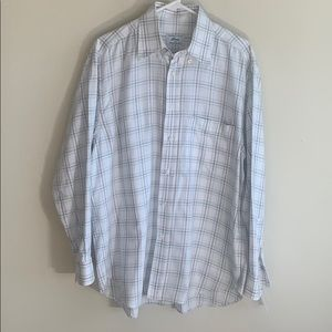 Brioni for Neiman Marcus striped long sleeve shirt